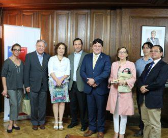 Ministra de BB.NN se reúne con director de CIREN para ver avance de trabajo conjunto