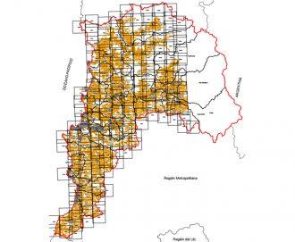 Uso actual de suelos Región de Valparaíso