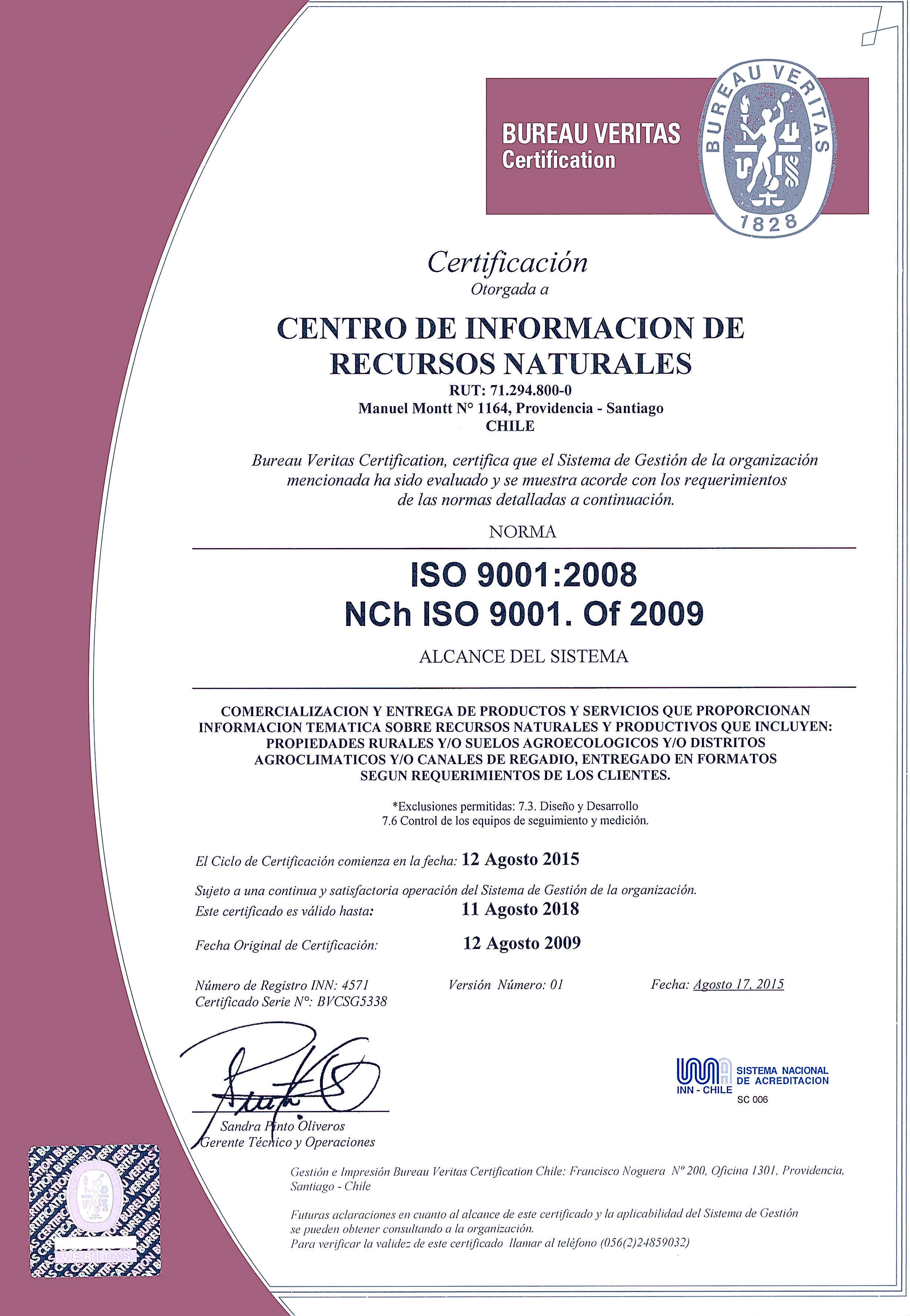 Ciren   Centro de Información de Recursos Naturales