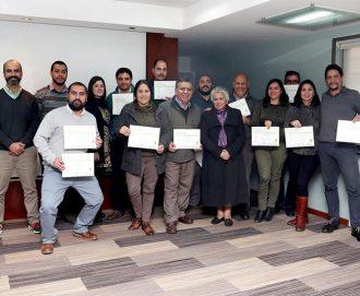 Profesionales de Ciren son certificados por Instituto Geográfico Nacional español