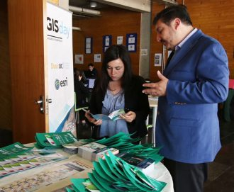 Ciren participa de Gis Day International en Duoc UC